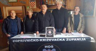 UDHOS-a Koprivničko -Križevačke Županije održao izbornu skupštinu